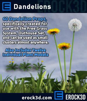 Erock3D - Dandelions