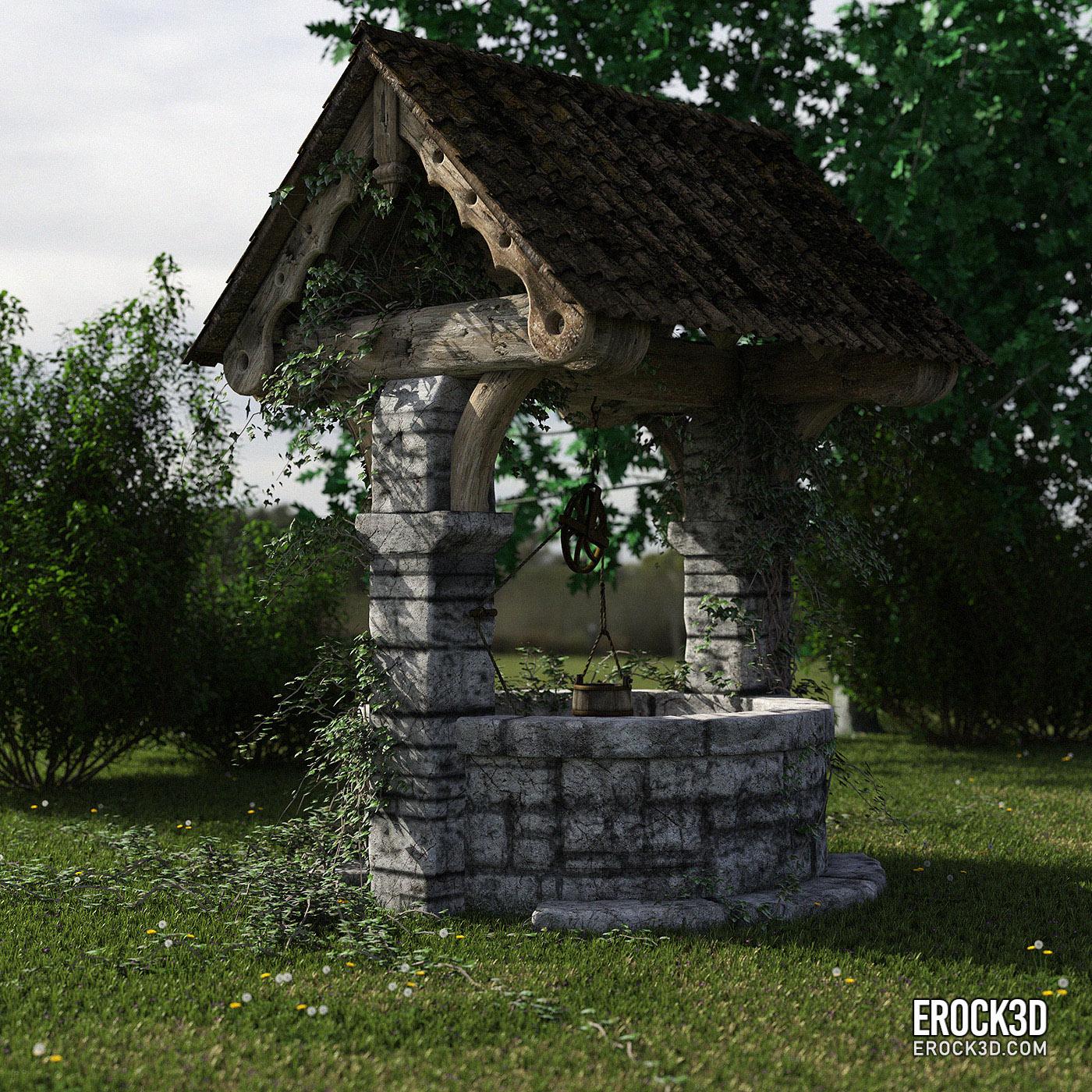 Erock3D Free Grass System Promo - Well