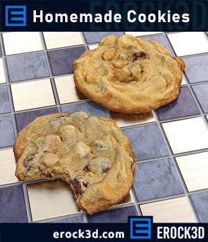 Erock3D - Homemade Cookies